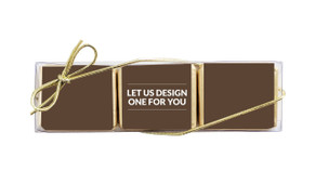 Let Us Design For You Mini Chocolate Trio Favour