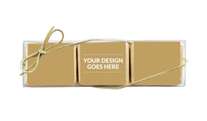 Use Your Own Design For You Mini Chocolate Trio Favour