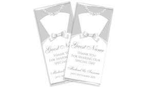 Groom & Bride Dress Wedding Chocolates