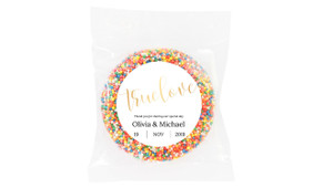 True Love Personalised Giant Chocolate Freckle