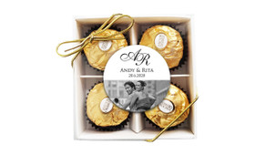 Add A Photo Wedding Ferrero Rocher Gift Box