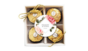 Rose Diamond Wedding Ferrero Rocher Gift Box