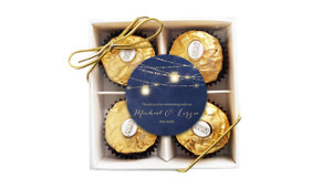 Evening Mason Jars Wedding Ferrero Rocher Gift Box