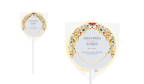 Decorate Jewelry Personalised Wedding Lollipops