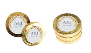 Decorated Jewellery Personalised Chocolate Coins