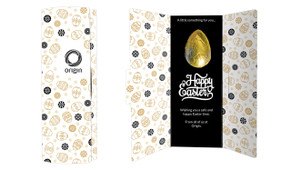 Easter Chocolate Greeting Card