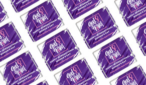 Girl Power International Women's Day Mini Chocolates