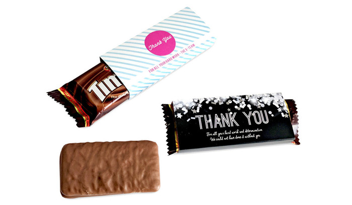 Individual TimTam TM With Personalised Sleeve (Box Of 150)