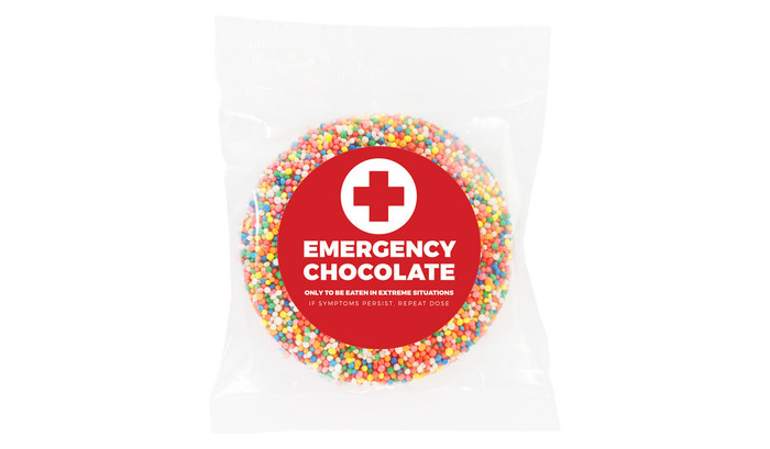Emergency Chocolate Personalised Giant Freckles