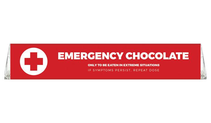 Emergency Chocolate Personalised Toblerone