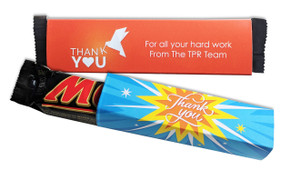 Mars Bar TM With Personalised Sleeve
