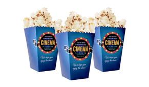 Customised 10cm Popcorn Box