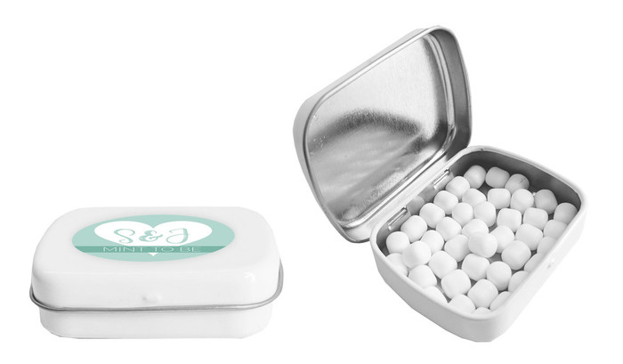 Customised Mint Tin With Mints Included