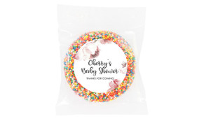 Cherry Blossoms Baby Shower Giant Chocolate Freckle