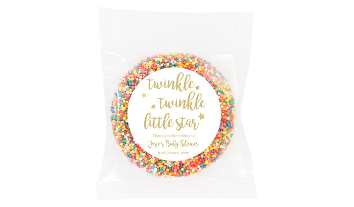 Twinkle Twinkle Baby Shower Giant Chocolate Freckle