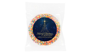 Blue Night Custom Christmas Giant Chocolate Freckle