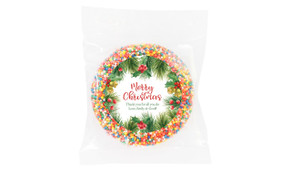 Branch Border Custom Christmas Giant Chocolate Freckle