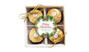 Branch Border Christmas Ferrero Rocher Gift Box