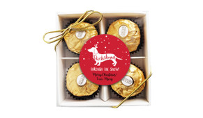 Dachshund Through The Snow Ferrero Rocher Gift Box