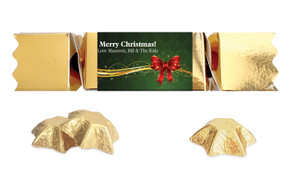 Christmas Bow Personalised Bon Bon