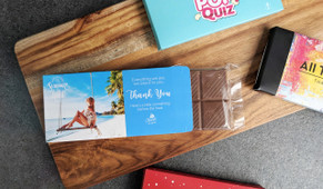 Custom Chocolate Bar In A Box