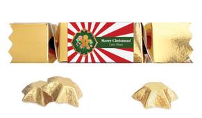 Gingerbread Man Personalised Christmas Bon Bon