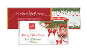 Christmas Personalised Chocolate Bar (35g & 100g Sizes)