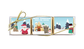 At The North Pole Mini Chocolate Trio Favour