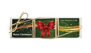 Christmas Bow Mini Chocolate Trio Favour