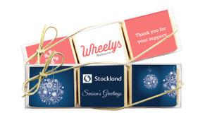 Christmas Mini Chocolate Trio Favour