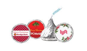 Christmas Hershey's Kisses Personalised