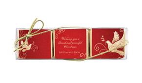 Dove On Gold Mini Chocolate Trio Favour