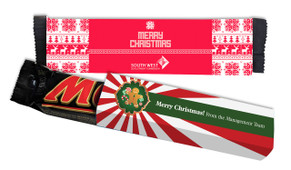 Mars Bar TM With Custom Christmas Sleeve