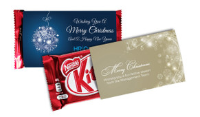 KitKat TM With Custom Christmas Sleeve
