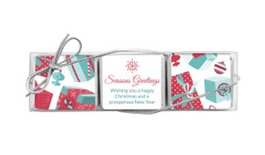 Gifts Of Christmas Mini Chocolate Trio Favour