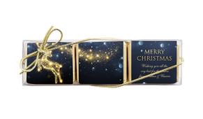 Glowing Reindeer Mini Chocolate Trio Favour