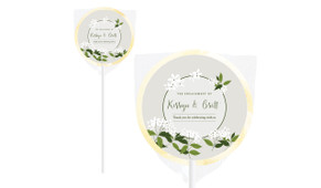 Jasmine Personalised Engagement Lollipops