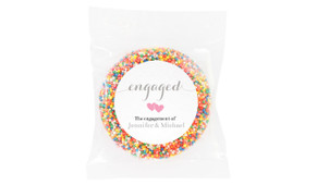 Flowing Words On Canvas Engagement Giant Freckle
