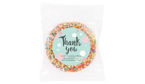 Dots Thank You Chocolate Freckle