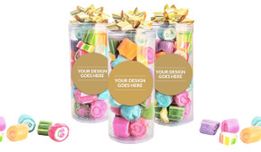 Use Your Own Design Personalised Assorted Rock Candy Tube