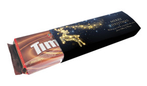 Glowing Reindeer Packet Of Personalised TimTams TM