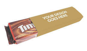 Use Your Own Design Tim Tams In Custom Sleeve