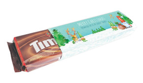 A Watercolour Christmas Customised Packet Of TimTams TM