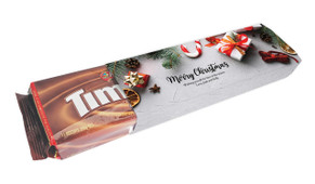 Christmas Background Customised Packet Of TimTams TM