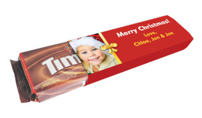 Add A Photo Christmas Custom Packet Of TimTams TM