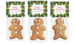 Branch Border Gingerbread Man With Custom Topper
