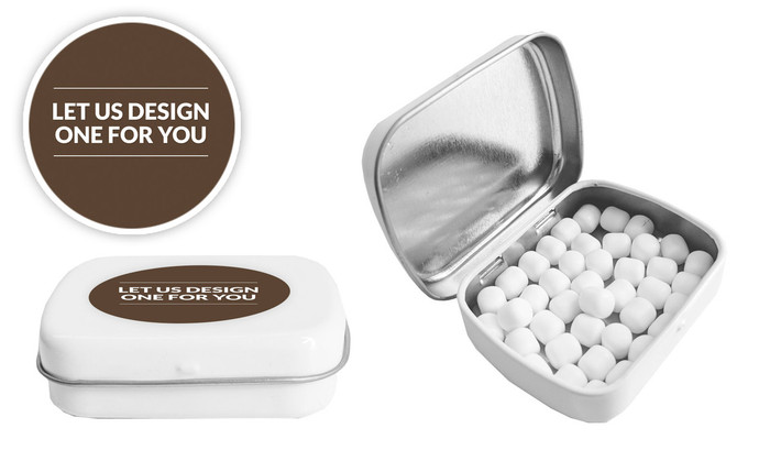 Let Us Design For You Personalised Mint Tin (Incl. Mints)