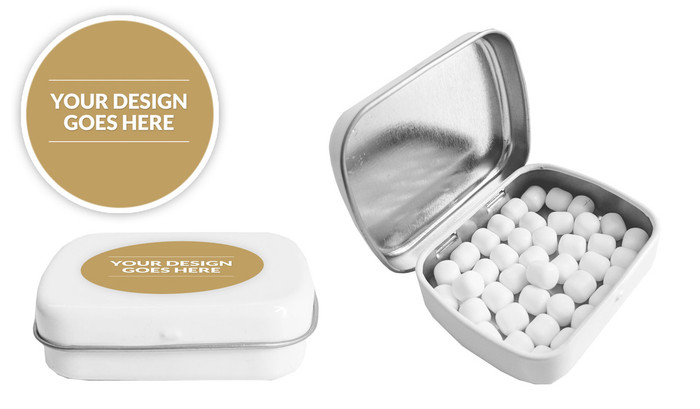 Use Your Own Design Personalised Mint Tin (Incl. Mints)