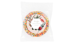 Wild Flowers Light Personalised Giant Chocolate Freckle