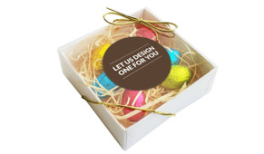 Let Us Design For You Personalised Easter Egg Nest Box